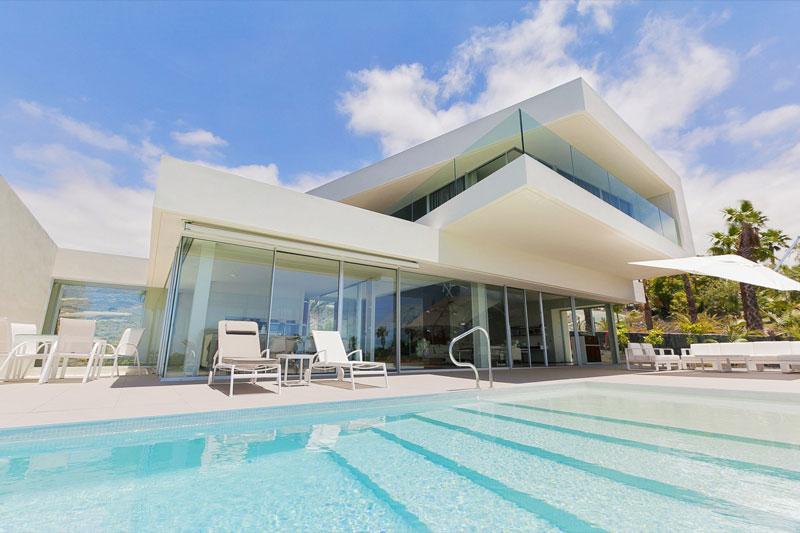 Tenerife building villa